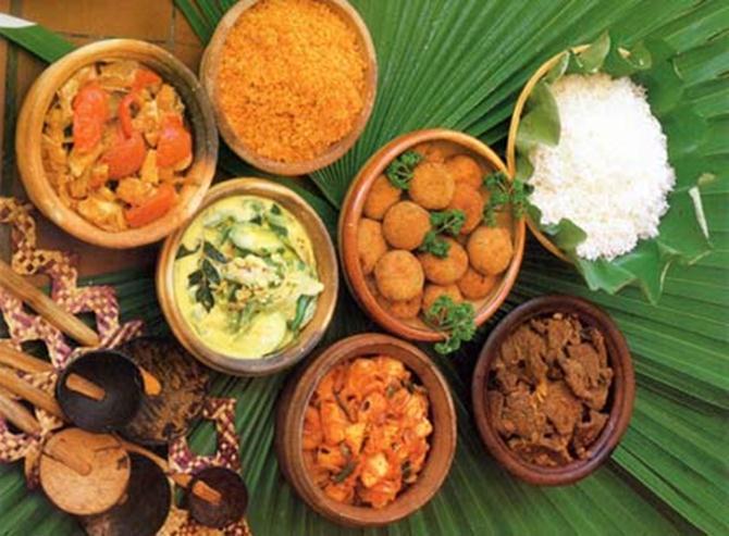 Еда на Шри-Ланке